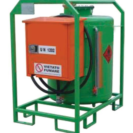 Serbatoi trasportabili gasolio cilindrico (esenzione ADR)