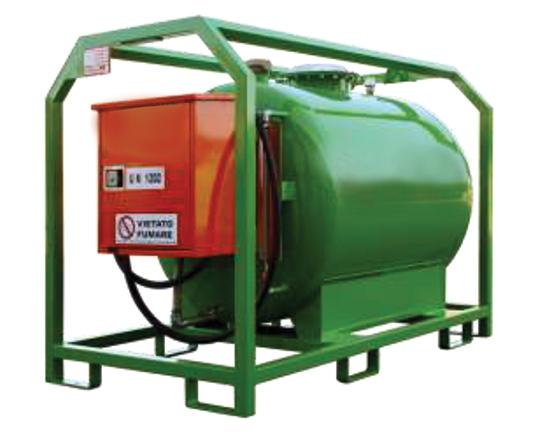 Serbatoi trasportabili gasolio (conformi ADR)
