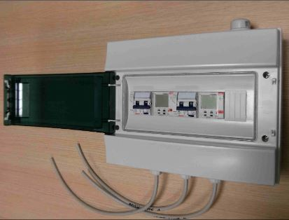 Quadro elettrico temporizzato per doppia soffiante