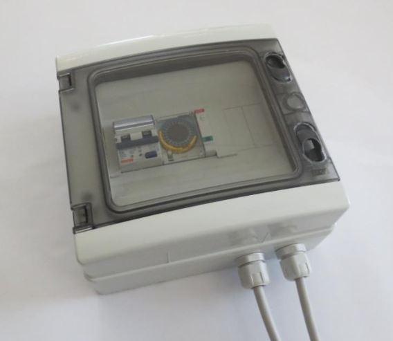 quadro elettrico temporizzato